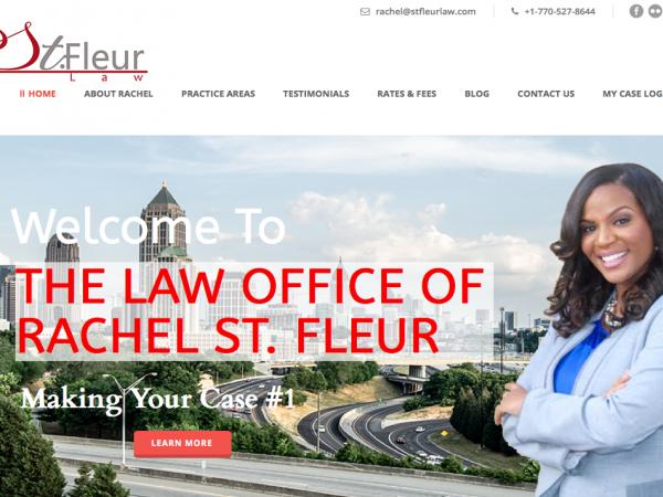 St. Fleur Law Website